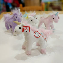 Load image into Gallery viewer, Unicorn Chatters 6in from Gund