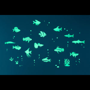 GloPlay Tropical Fish Decals