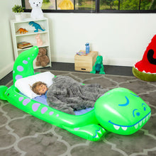 Load image into Gallery viewer, Dream Floatie Dinosaur Sleepover Bed from Good Banana