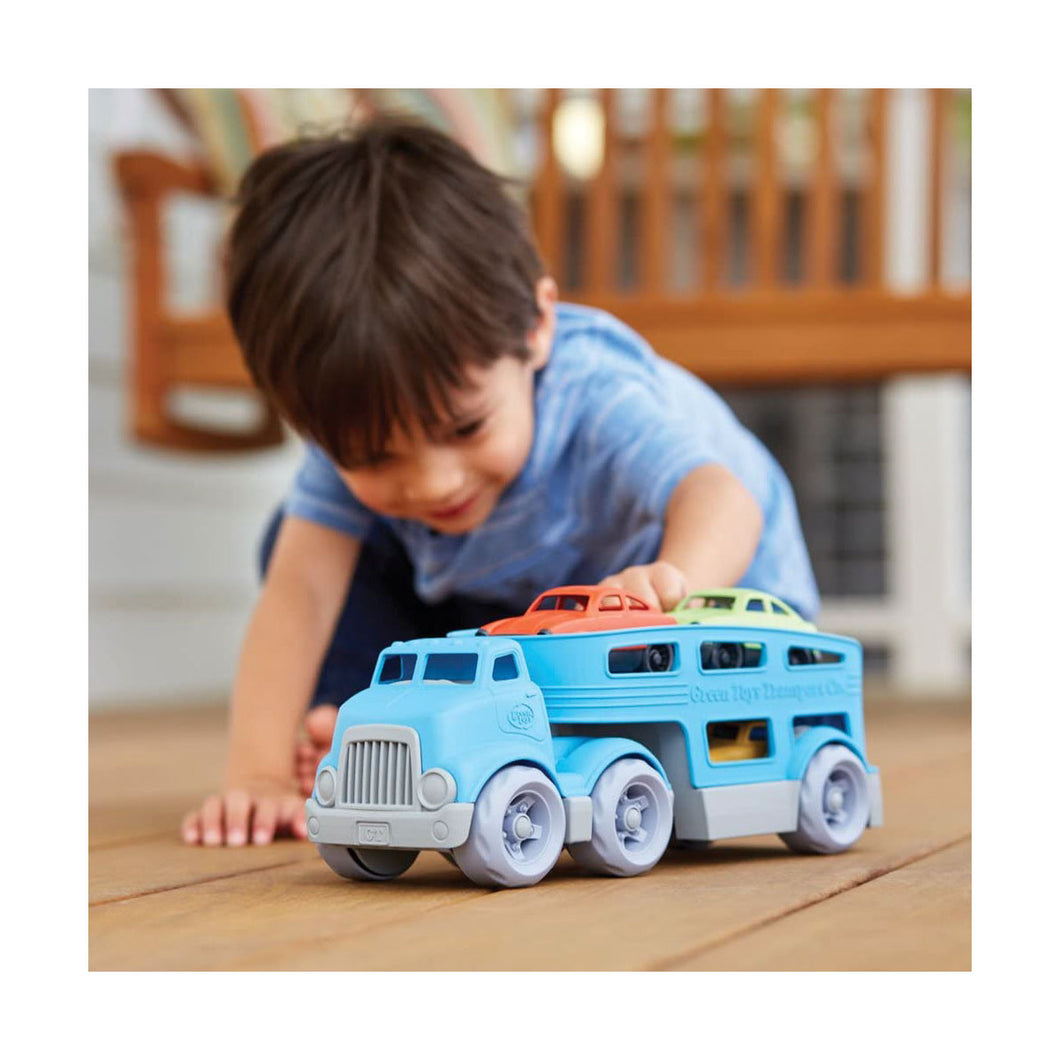 Green Toys Car Carrier Truck