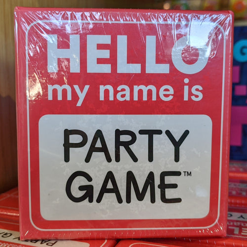 Hello my name is… Party Game from Gamewright