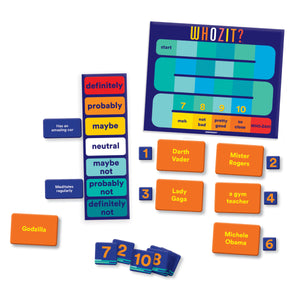 Whozit? Guessing game from Gamewright