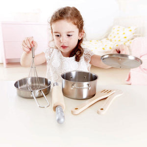 Hape Chef's Cooking Pots & Pans set