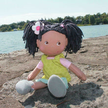 "Load image into Gallery viewer, Soft Doll Cari 12"" from Haba"