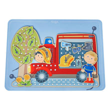 Load image into Gallery viewer, Fire Truck Threading Board from Haba