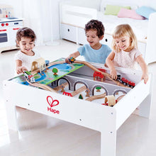 Load image into Gallery viewer, Hape Reversible Train Storage Table