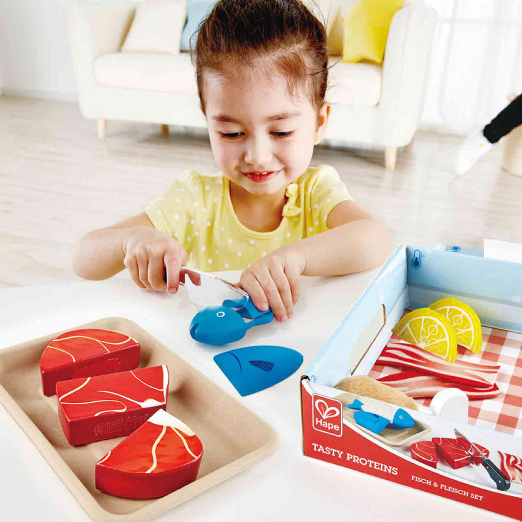 Hape Tasty Proteins Slicing Set