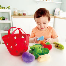 Load image into Gallery viewer, Hape Toddler Vegetable Basket