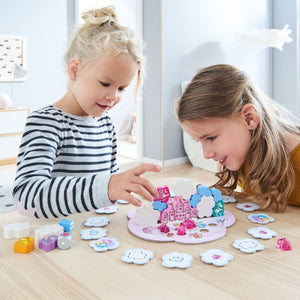 Unicorn Glitterluck Cloud Stacking Game from Haba