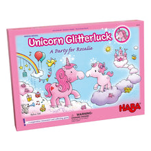 Load image into Gallery viewer, Unicorn Glitterluck A Party for Rosalie from Haba