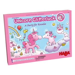 Unicorn Glitterluck A Party for Rosalie from Haba