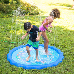 Hearthsong Fountain Splash Pad Sprinkler
