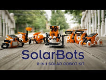 Load and play video in Gallery viewer, SolarBots 8 in 1 Solar Robot Kit