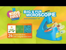 Load and play video in Gallery viewer, Kids First Big & Fun Microscope