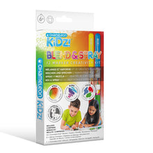 Load image into Gallery viewer, Chameleon Kidz Blend & Spray Creativity Kit - 12 Markers