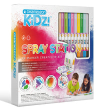Load image into Gallery viewer, Chameleon Kidz Spray Station - 20 Markers