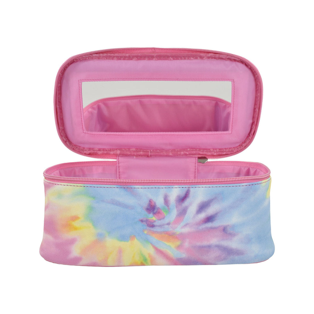 Tie Dye Self Care Cosmetic Case from iScream