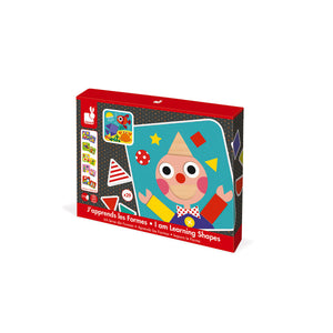 Janod I Am Learning Shapes Wooden Play Set