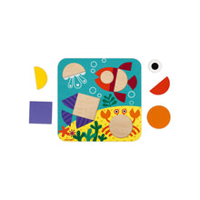 Load image into Gallery viewer, Janod I Am Learning Shapes Wooden Play Set