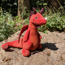 Load image into Gallery viewer, Paprika Dragon from Jellycat
