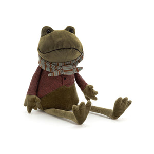 Riverside Rambler Frog from Jellycat
