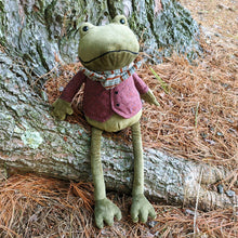 Load image into Gallery viewer, Riverside Rambler Frog from Jellycat