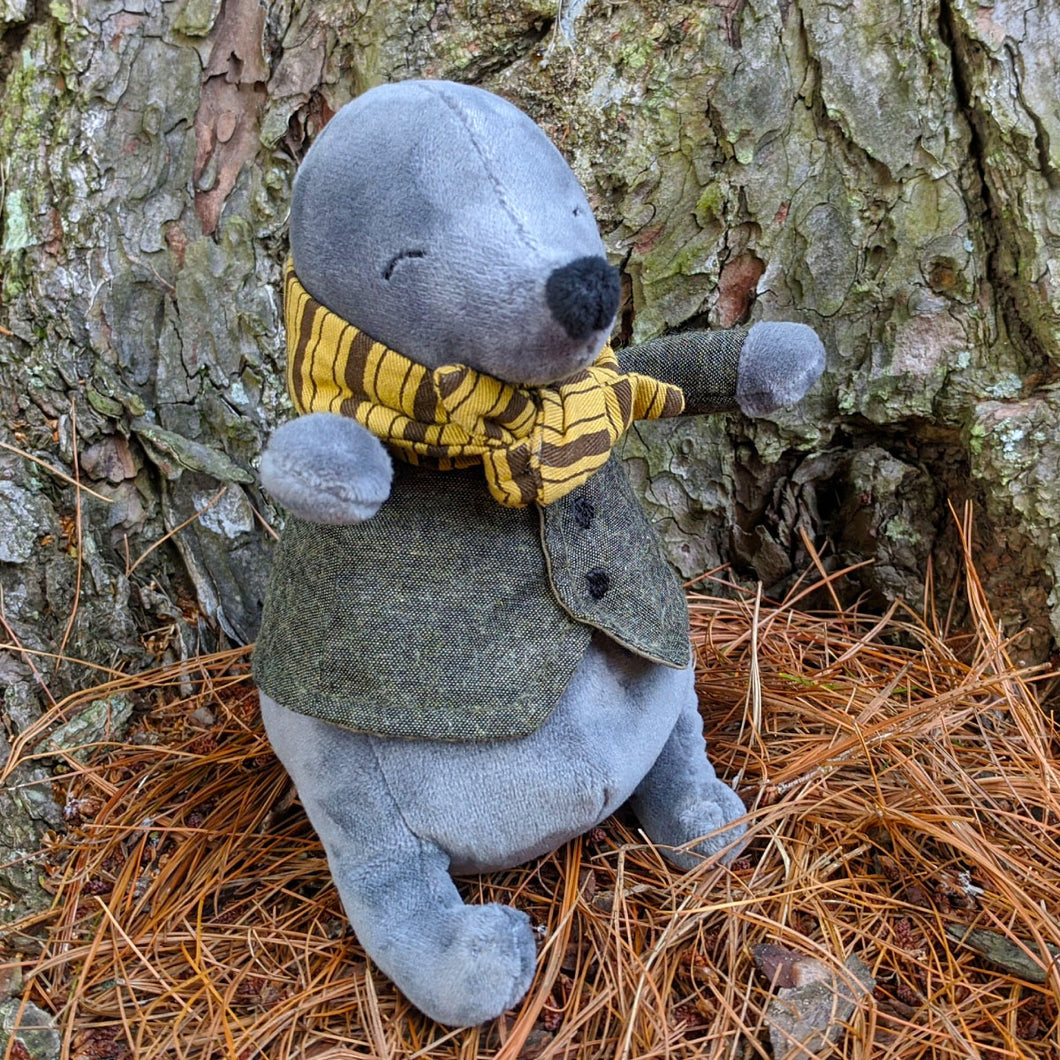 Riverside Rambler Mole from Jellycat