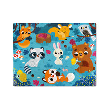 Load image into Gallery viewer, Janod Tactile Puzzle - Forest Animals 20 pc Jigsaw