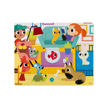 Load image into Gallery viewer, Janod Tactile Puzzle - Pets 20 pc Jigsaw