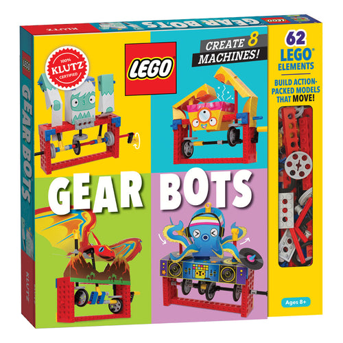 LEGO Gear Bots from Klutz