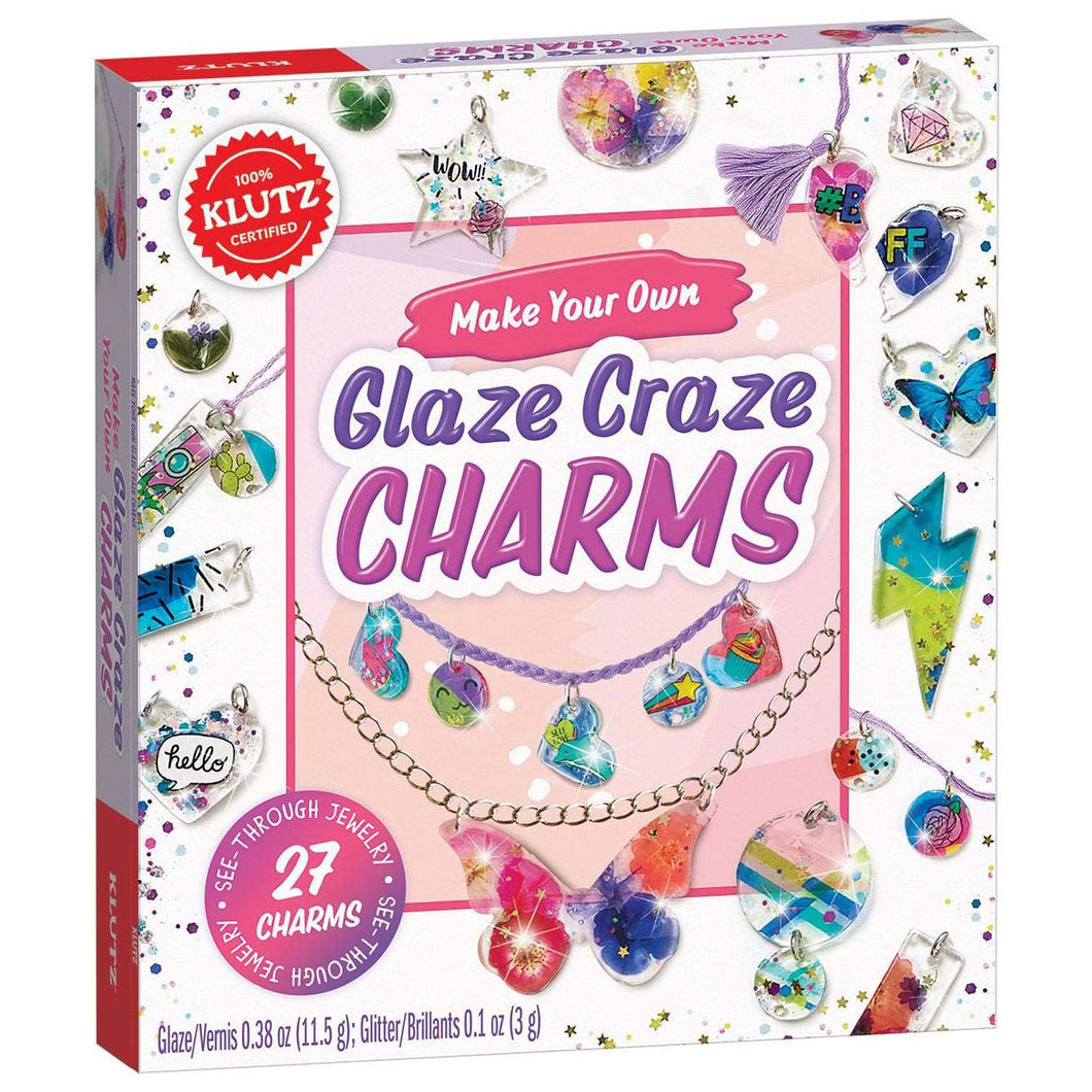 Make Your Own Glaze Craze Charms from Klutz