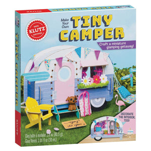 Make Your Own Tiny Camper from Klutz