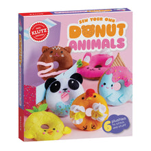 Load image into Gallery viewer, Sew Your Own Donut Animals from Klutz