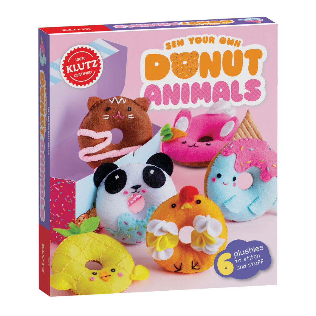Sew Your Own Donut Animals from Klutz