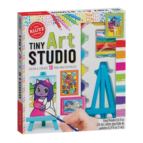 Tiny Art Studio from Klutz