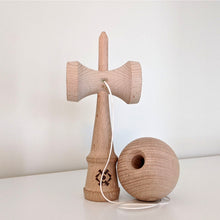 Load image into Gallery viewer, Tribute Jumbo Kendama - Natural Beech Wood