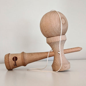 Tribute Jumbo Kendama - Natural Beech Wood