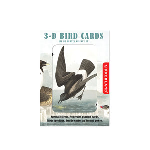 Birds 3D Lenticular Playing Cards from Kikkerland