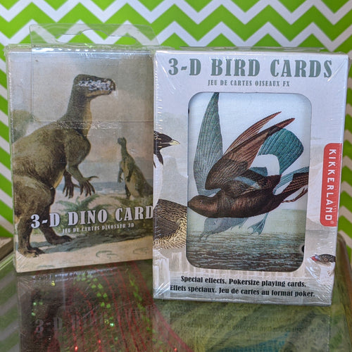 3D Lenticular Playing Cards from Kikkerland