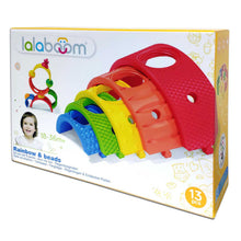 Load image into Gallery viewer, Lalaboom Rainbow & Beads 13 piece set
