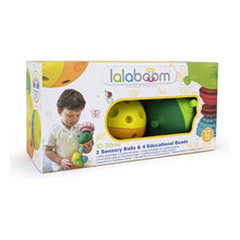 Load image into Gallery viewer, Lalaboom Sensory Balls & Beads 12pc