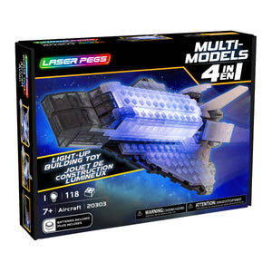 Laser Pegs Multi-Models 4 in 1 - Aircraft