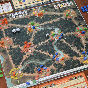 Root game board from Leder Games