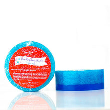 Load image into Gallery viewer, Blue Raspberry Slushie Luffa Soap