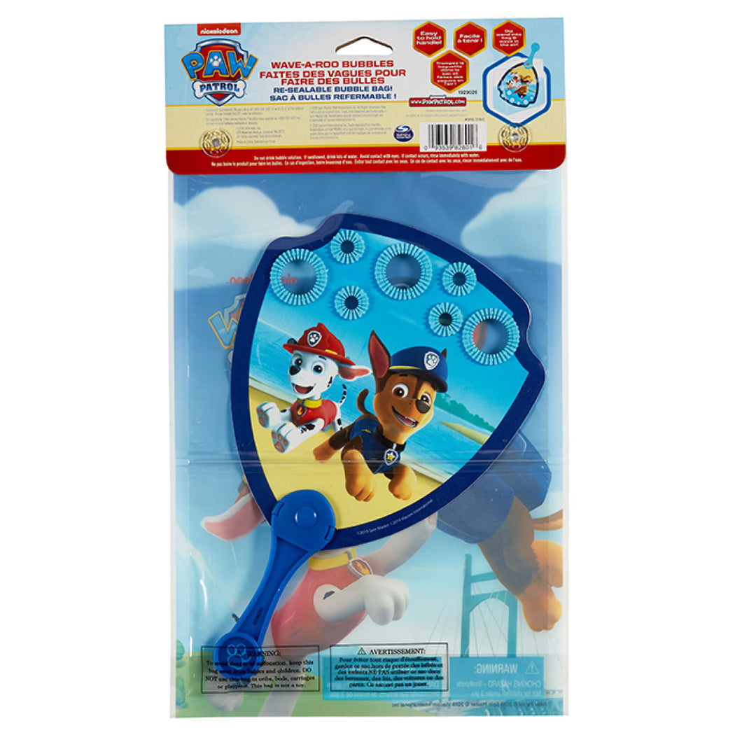 Wave-a-Roo Paw Patrol Bubble Paddle