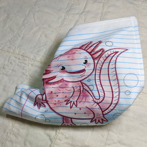Loose Leaf Baby Doodled Crinkle Sheets with art by Aidan Mohahan