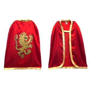 Noble Knight Red Cape from Liontouch