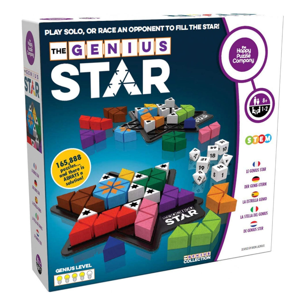 Genius Star Logic Puzzle Game from The Happy Puzzle Co