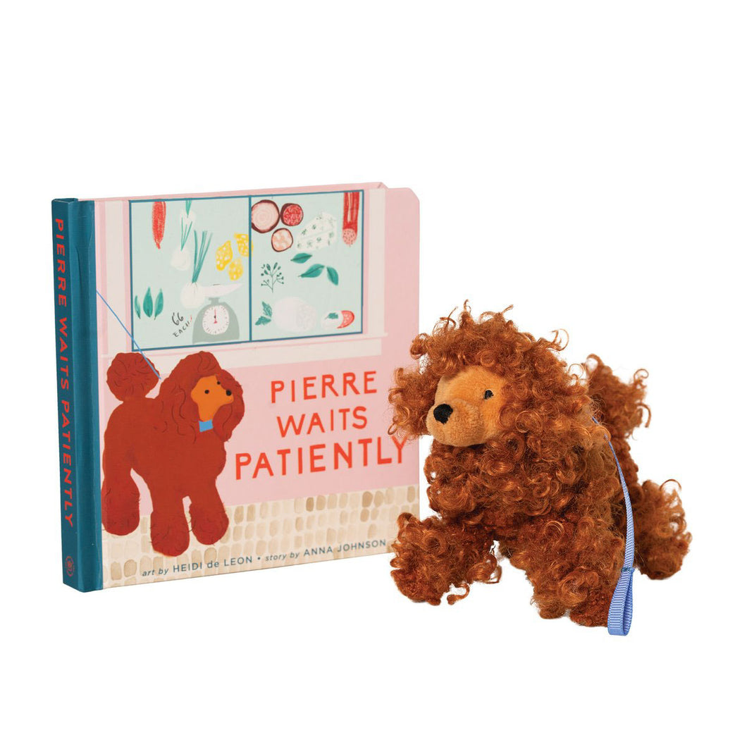 Pierre Waits Patiently Book & Toy Gift Set