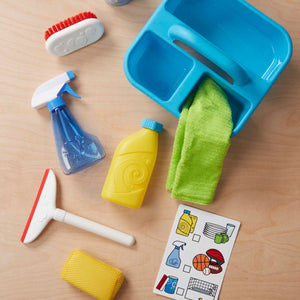 Let's Play House! Spray, Squit, & Squeegee Cleaning Play Set